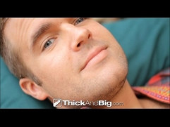 ThickAndBig - Connor Patricks Slides On To A Fat Cock