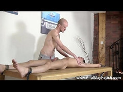 Teen free sex gay domination Brit twink Oli Jay is tied down to the