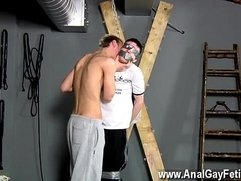 Gay big loads of of cum on ass The beautiful black-haired fellow is