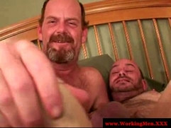 Bear redneck matures ass fucking
