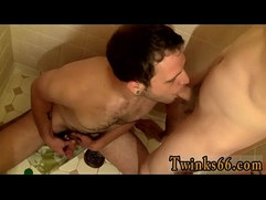 Gay uncut cocks cumshots Welsey Makes A Great Urinal
