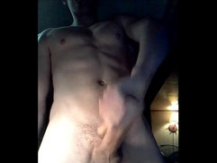 hot fit hunk hard perfect cock cums