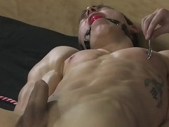 BDSM play slave boy