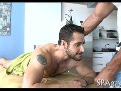 Homo lingam massage