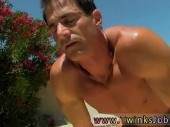Rate my twinks gay Alex is liking the sun on his naked bod when his