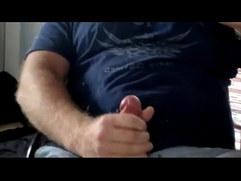 shooting a huge load of cum