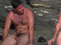 nudist guys on the beach