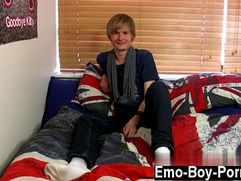 Gay silk bj movie Brent Daley is a super-cute blond emo fellow one of