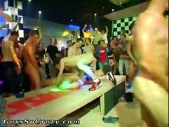 Sexy gays This masculine stripper party is racing towards a messy and