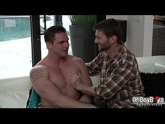 Dennis lets Jake suck his big thick dick