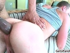 Dude chokes on massive 20 incher 6 by Getspainful