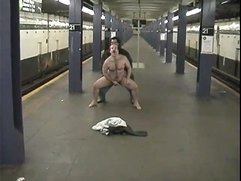 manstreaker gets fucked nude on subway station