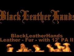 BlackLeatherHands - Leather - Fur - with 12' PA II