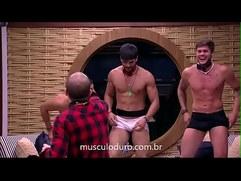 Lucas, Kaysar e Breno fazem stripper para Mahmoud Insta